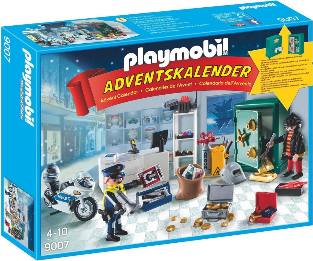 Playmobil 9007 - Jewelery heist - Box