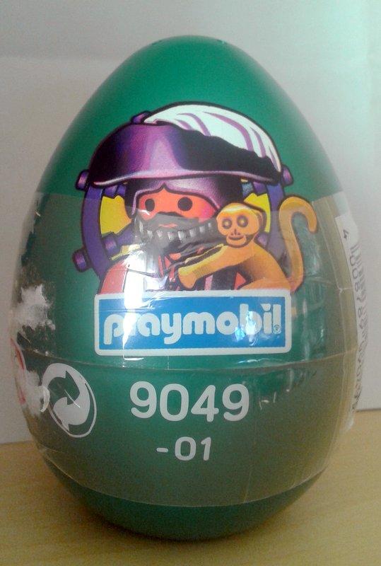 Playmobil 9049 - 01 - pirate green egg - Box