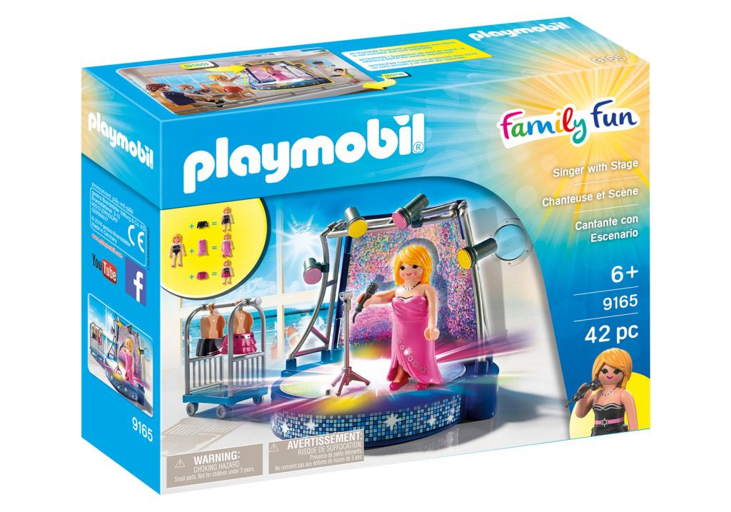 Playmobil 9165 - Singer with Stage - Box