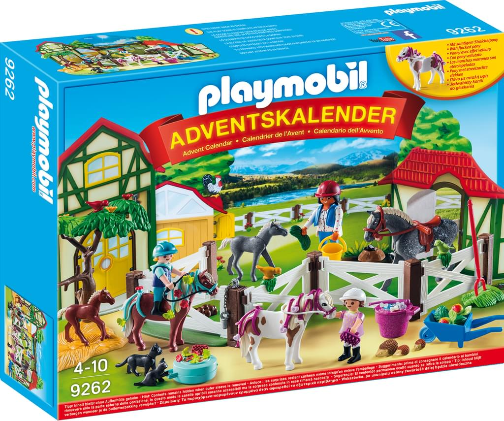Playmobil 9262 - Advent Calendar Horse Farm - Box