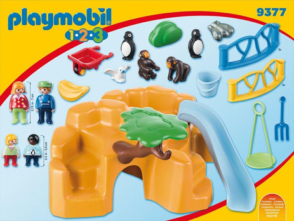 Playmobil 9377 - Zoo - Back