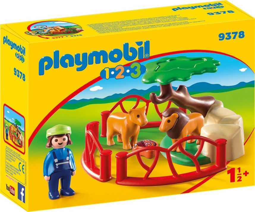 Playmobil 9378 - Lions - Box