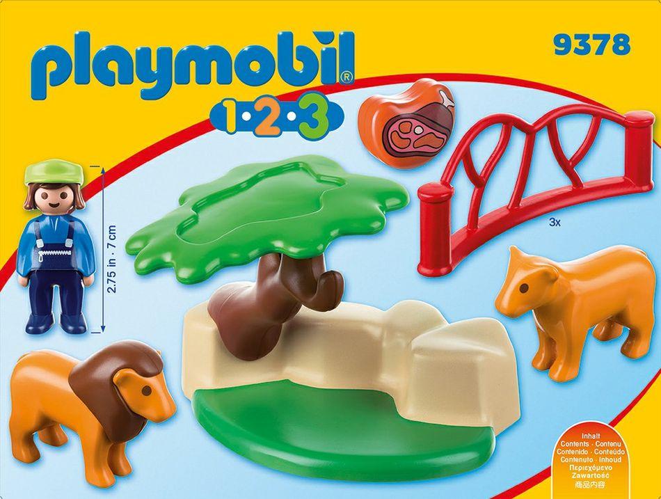 Playmobil 9378 - Lions - Back