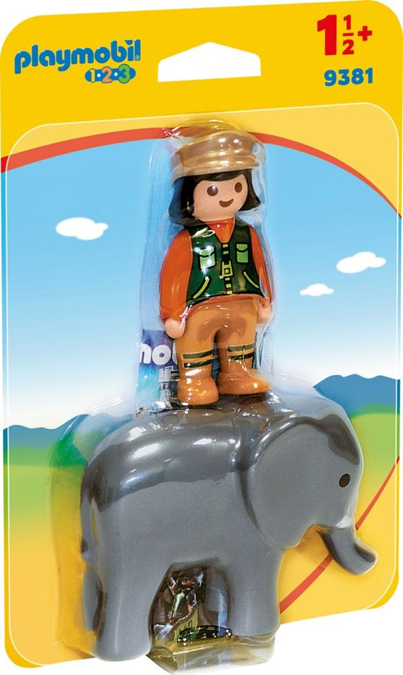 Playmobil 9381 - Elephant - Box