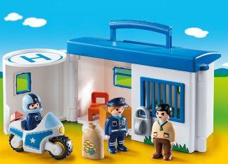 Playmobil - 9382 - Take away police station