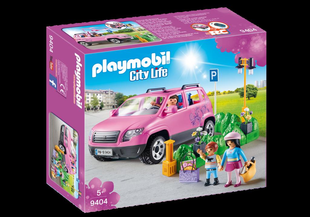 Playmobil 9404 - Family Car - Box