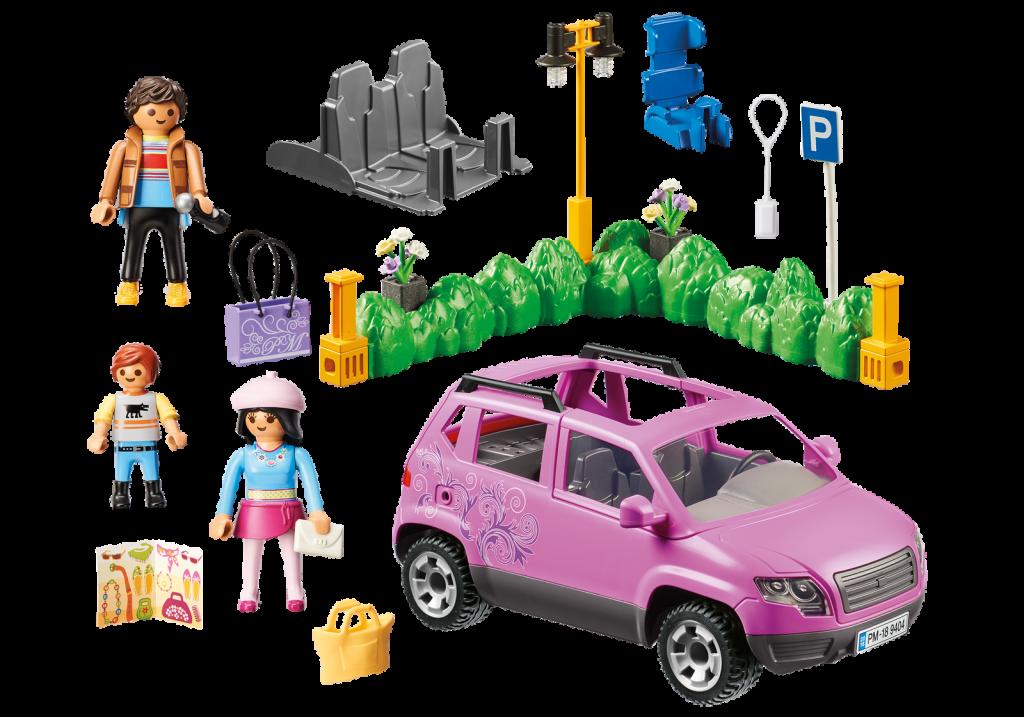 Playmobil 9404 - Family Car - Back