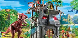 Playmobil - 9429 - Hidden Temple with T-Rex