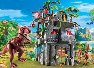 Playmobil - 9429 - Hidden Temple with T-Rex