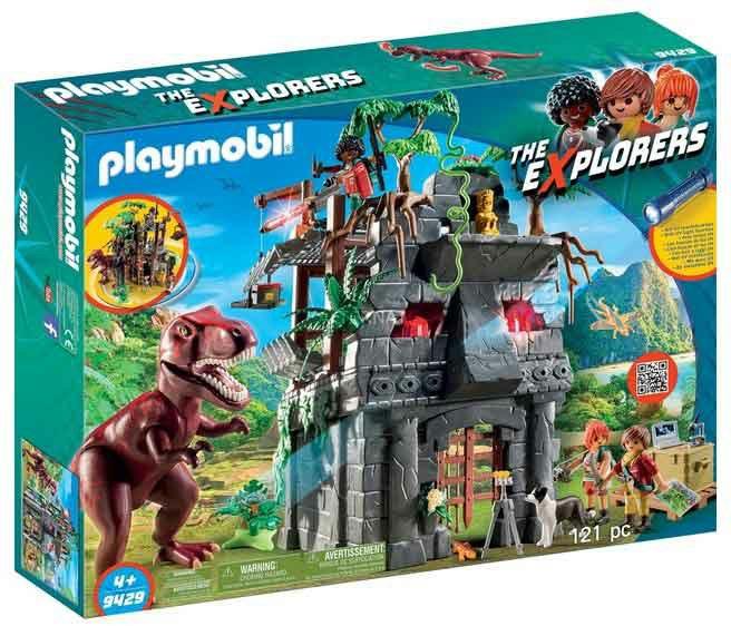 Playmobil 9429 - Hidden Temple with T-Rex - Box