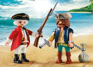 Playmobil - 9446 - Pirate and Soldier