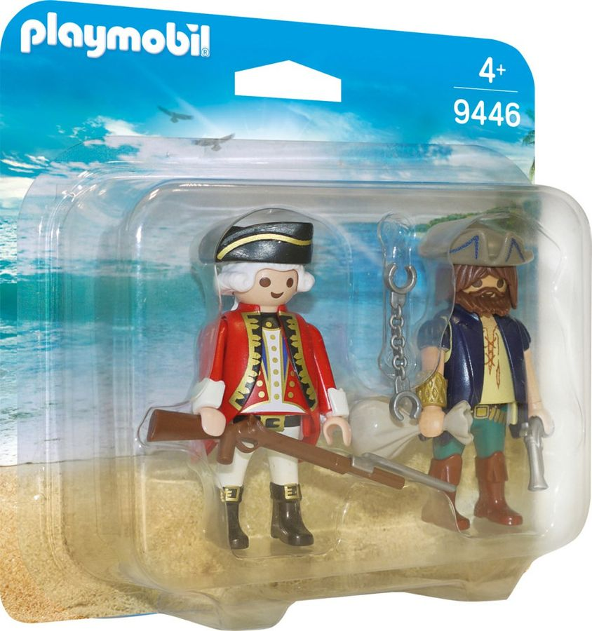 playmobil set 9446 pirate and soldier klickypedia. Black Bedroom Furniture Sets. Home Design Ideas