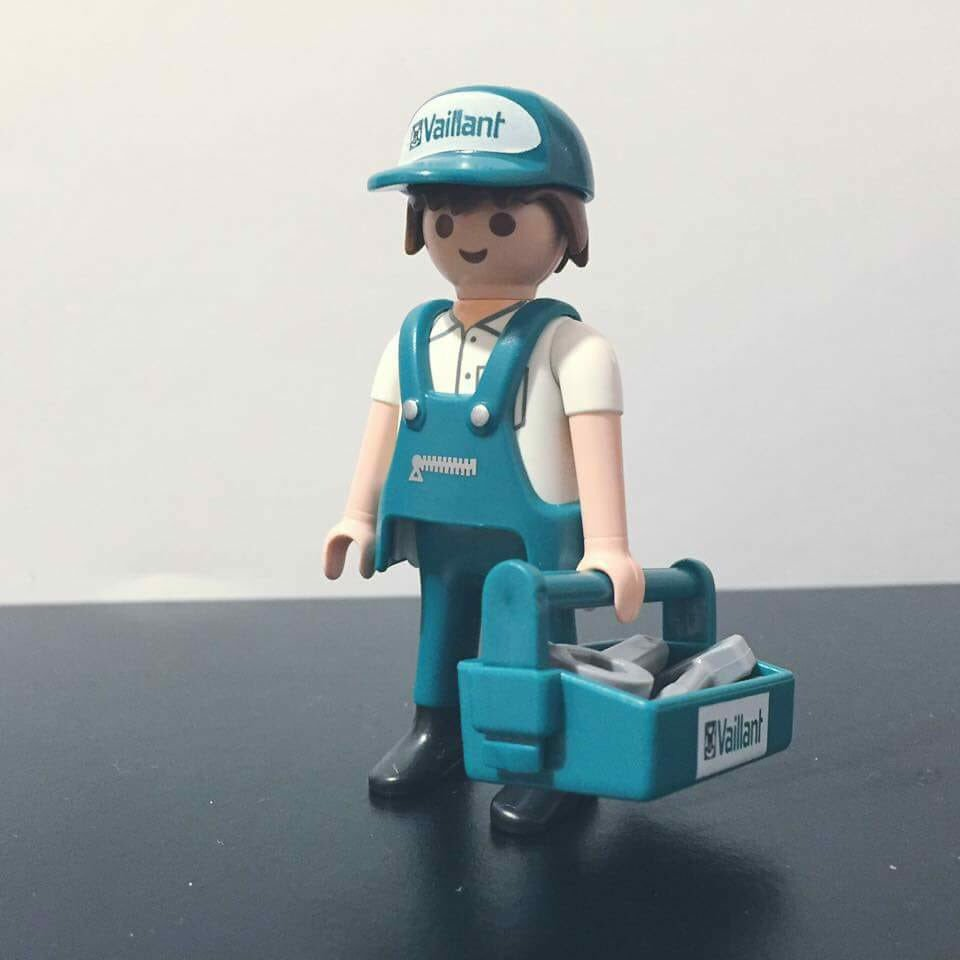 Playmobil 0000-ger - Vaillant Promotional - Back