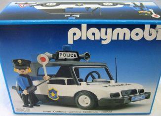Playmobil - 3149v1 - Police car