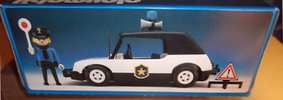 Playmobil 3149v3 - Police car - Box