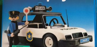 Playmobil - 3149v3 - Police car