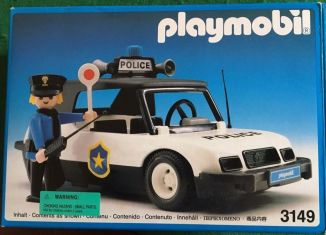 Playmobil - 3149v3 - Police car
