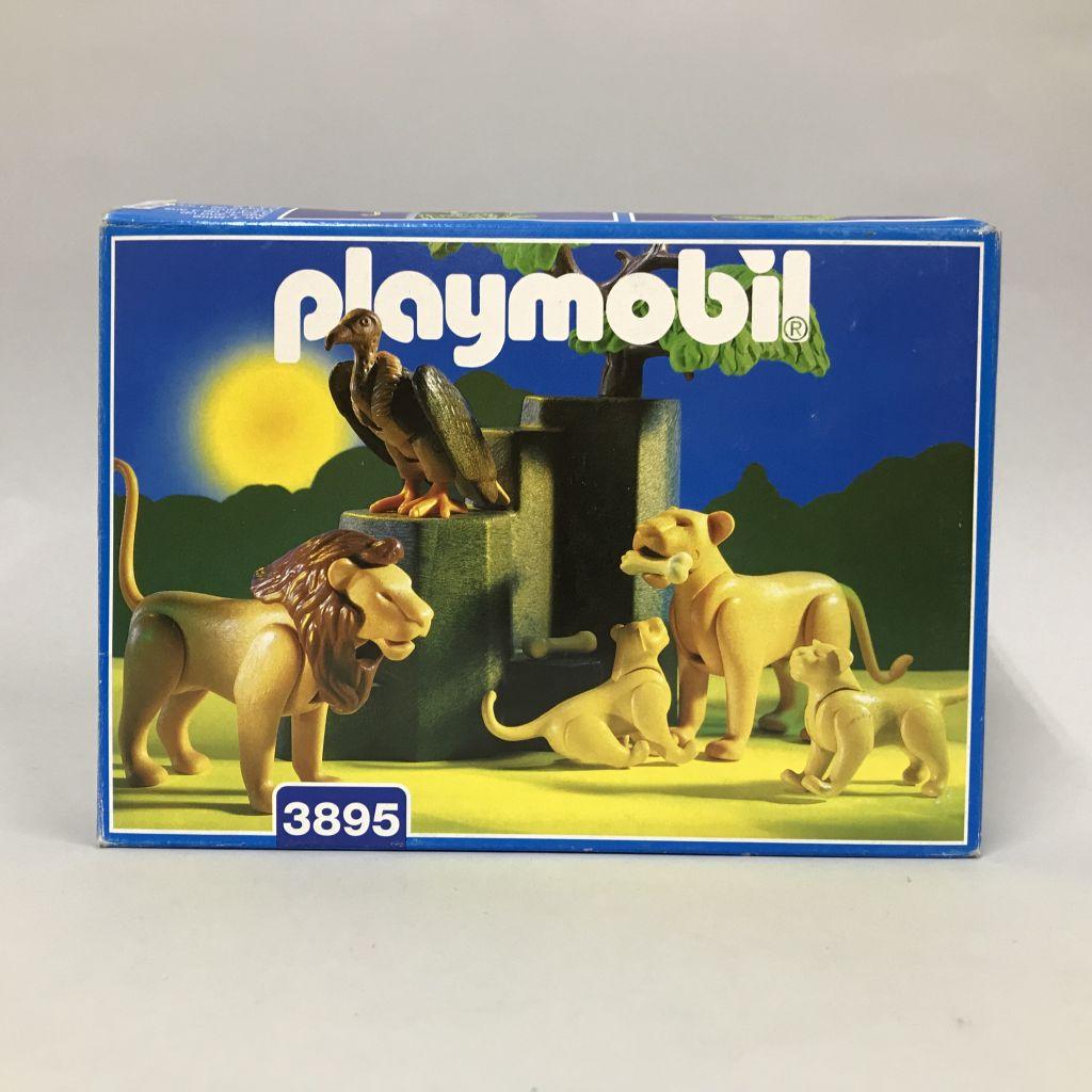 Playmobil 3895 - Leones en la sabana - Caja