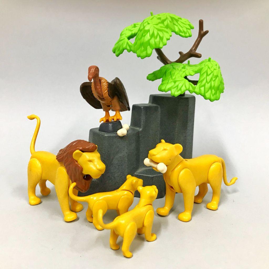 Playmobil 3895 - Lion Pride - Back