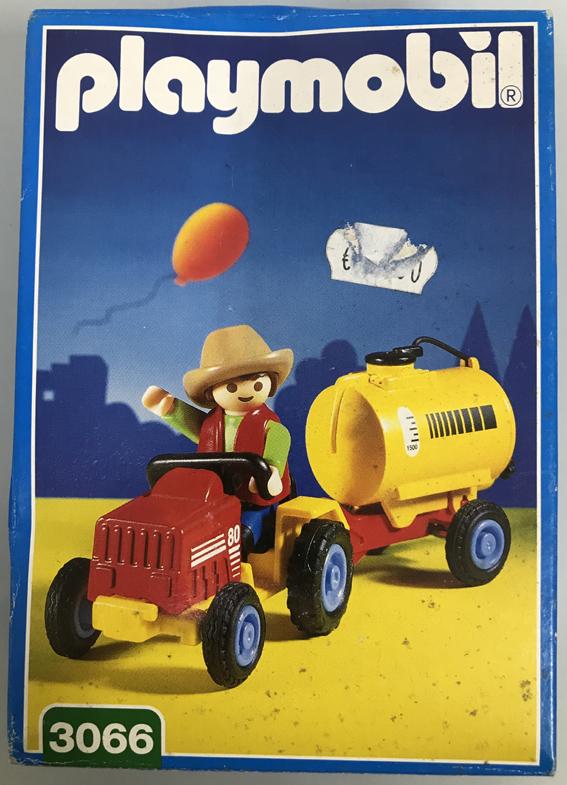Playmobil 3066 - Child's Tractor - Box