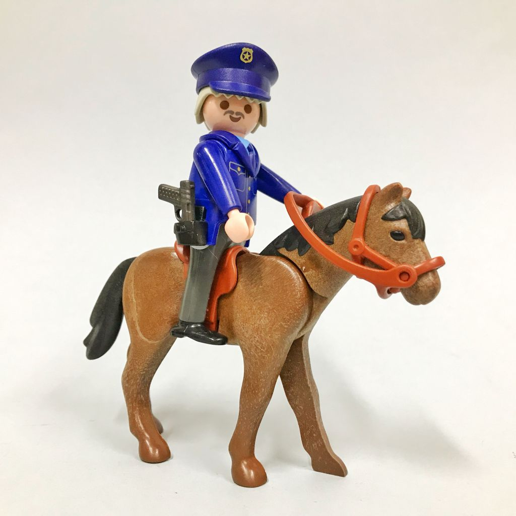 Playmobil 3167 - Mounted Police - Back