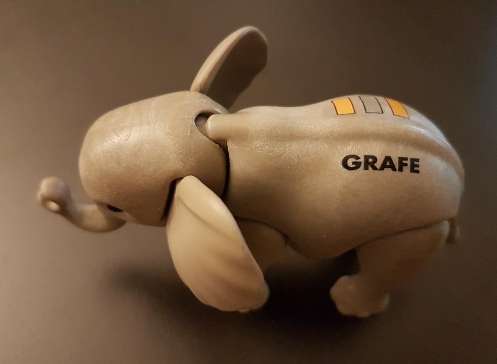 Playmobil 0000-ger - Promotional Baby Elephant Grafe - Back