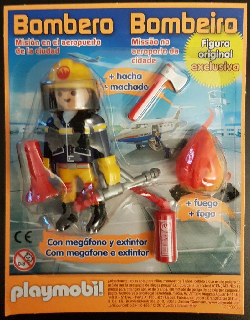 Playmobil 30798653-esp - Playmobil Portugal Magazine nº 20 - Back