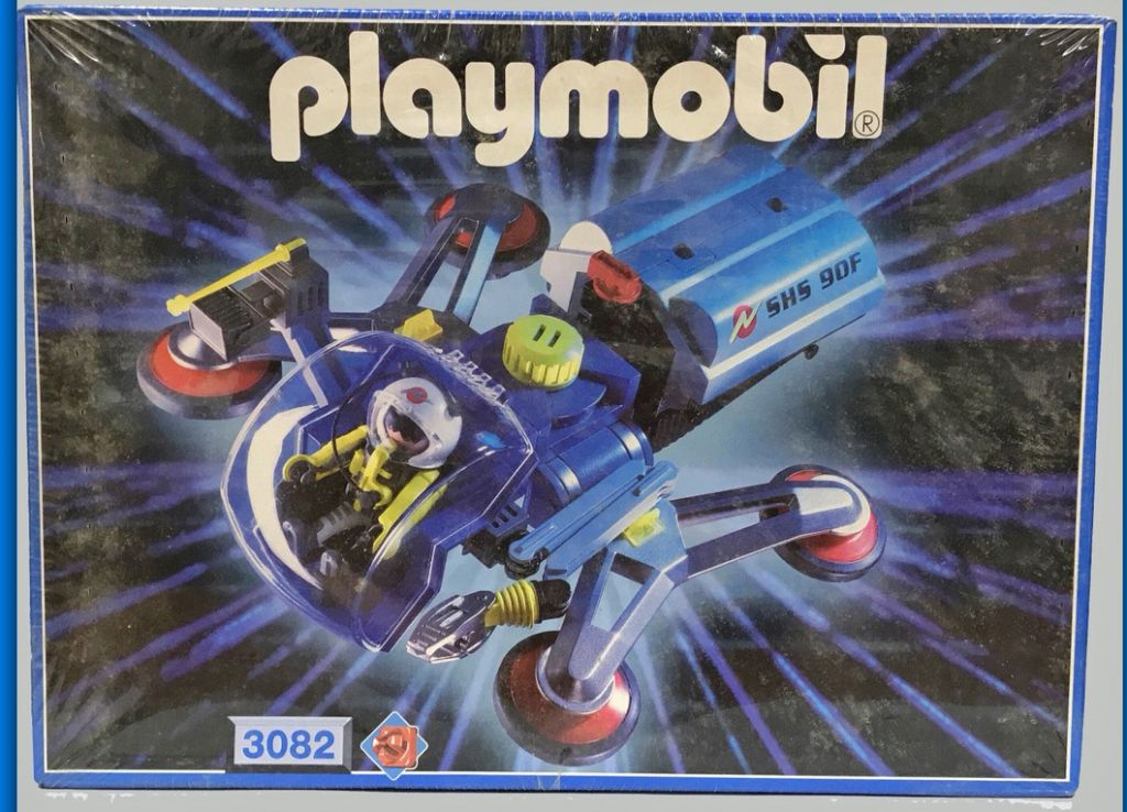 Playmobil 3082 - Galactic Sampling Pod - Boîte