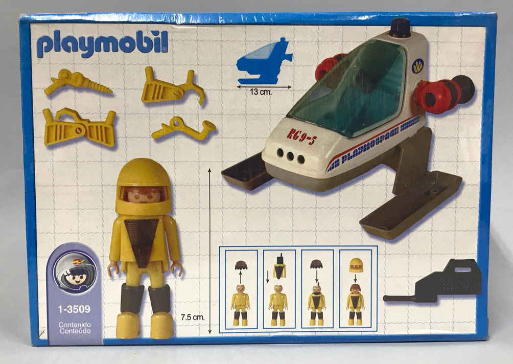 Playmobil 1-3509-ant - Space Buggy - Back
