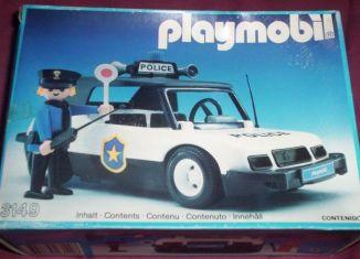 Playmobil - 3149v1-ant - Police car