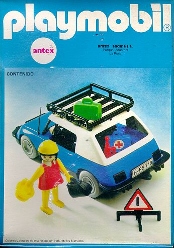 Playmobil 3210-ant - Blue Car - Box