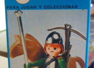 Playmobil - 3333v1-ant - soldier and Horse