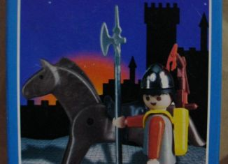 Playmobil - 3333v2-ant - Medieval soldier on horseback