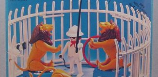 Playmobil - 3517-ant - Lions, Cage and Trainer
