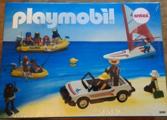 Playmobil - 9898-ant - Beach set