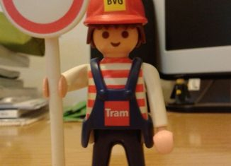 Playmobil - 0000-ger - Maintenance Employee BVG (Tram, 2004)