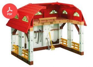 Playmobil - 6368-usa - Farm Equipment Shed