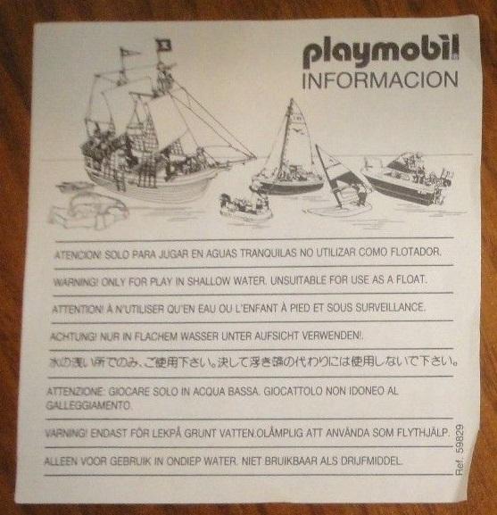 Playmobil 3248-esp - Polar Bears - Back