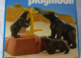 Playmobil - 3298-esp - Bears family