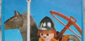 Playmobil - 3333-esp - Soldier and horse
