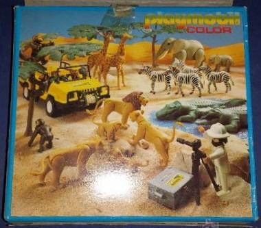 Playmobil 3672-esp - Giraffes - Back