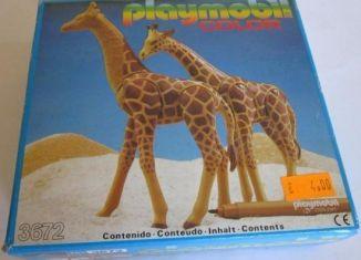 Playmobil - 3672-esp - Giraffes