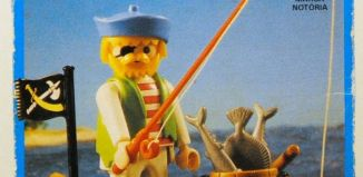 Playmobil - 30.10.10-est - Pirate / rowboat