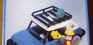 Playmobil - 3210v1-fam - Blue Car
