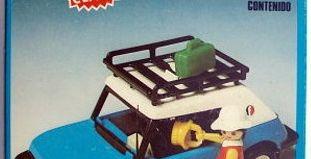 Playmobil - 3210v2-fam - Blue Car
