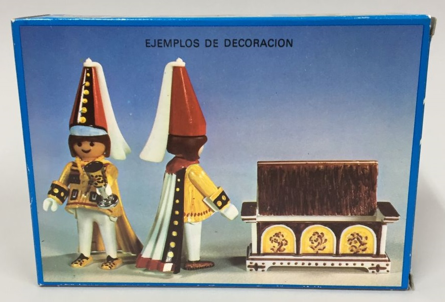 Playmobil 3663-fam - Archer & Courtesan - Box