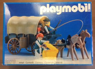 Playmobil - 3278-ant - Settlers & covered wagon