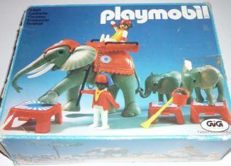 Playmobil - 3519-ita - Circus Elephants & Trainers