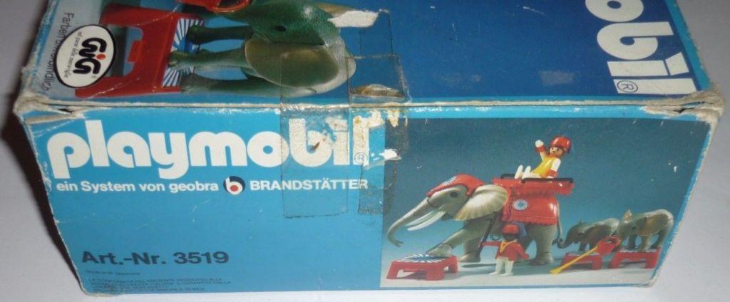 Playmobil 3519-ita - Circus Elephants & Trainers - Box