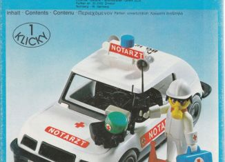 Playmobil - 3217-lyr - Doctor's Car